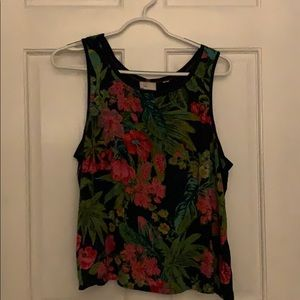 Sleeveless top. Great alone or under sweaters